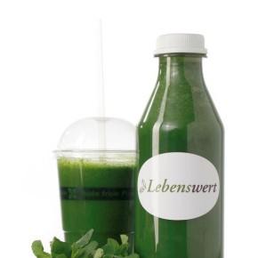 Rezept Grüner Smoothie a la Lebenswert