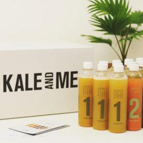 KALE&ME-Detox-Kur-Paket aus kalt gepressten Säften
