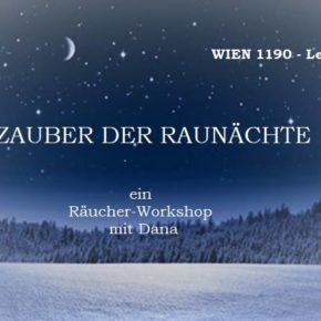 Räucher-Workshop Raunächte: 7.12.18