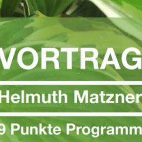 """""""Gesundheit in eigener Hand""""  - Das Neun-Punkte-Programm Helmuth Matzner"""